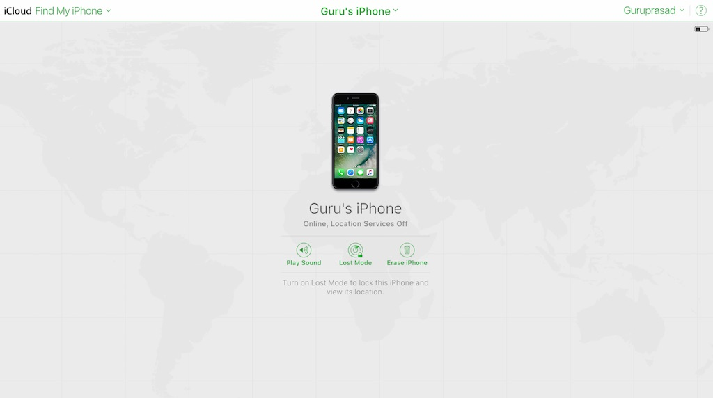 iPhone-lost-iCloud-settings